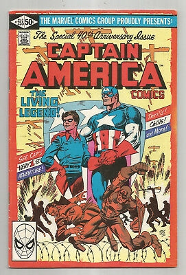 CAPTAIN AMERICA # 255 * JOHN BYRNE art