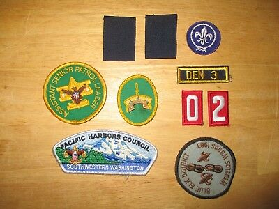 Lot of 10 BSA / BOY SCOUTS of AMERICA patches