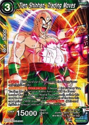 Unending Moves Yamcha 4x TB2-054 R Dragon Ball Super PLAYSET