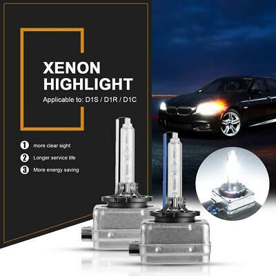 2pcs D1S 35W 6000K/8000K White HID Xenon Headlight Light Bulbs OEM Replacemen
