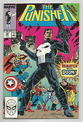 PUNISHER # 29 * DOCTOR DOOM * SIGNED by artist BILL REINHOLD on first page