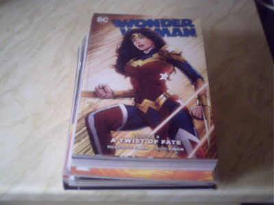 wonder woman vol.8 a twist of fate paperback graphic novel   dc comic the new 52