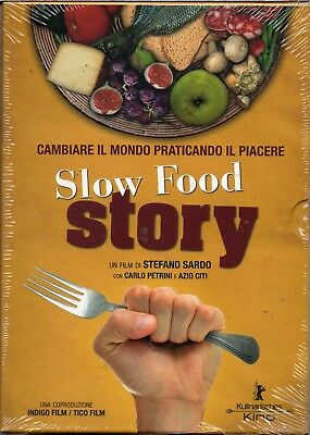 Slow food story - dvd - nuovo