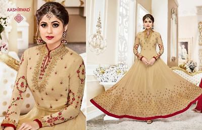 Designer anarkali salwar kameez suit Bollywood Pakistani ethnic Party wear dress