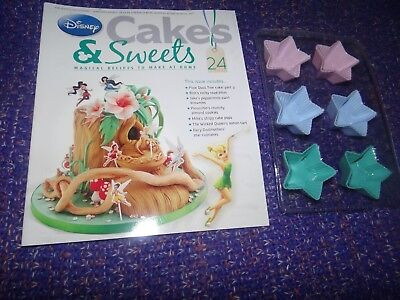Eaglemoss Disney Cakes & Sweets Magazine #24 Partial Free Gift