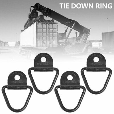 4X Durable Tie Down Load Securing Steel Lashing Ring Heavy Duty Anchor Point FA