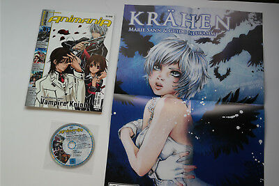Animania # 4-2009 - Vampire Knight Vipers Creed Street Fighter CityH +POSTER+DVD