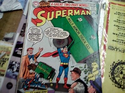 Superman #182 - G/VG Jan 1966