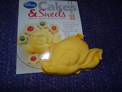 Eaglemoss Disney Cakes & Sweets Magazine #33 With Free Gift