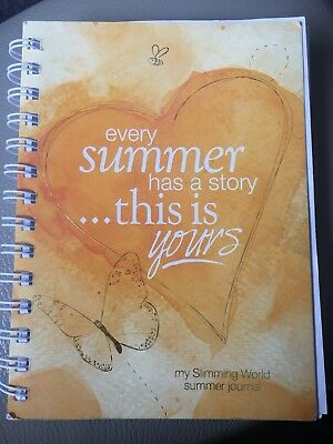 Slimming World 12 week Journal - Every Summer has a story this is yours