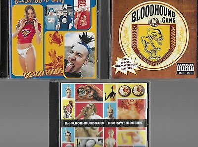 Bloodhound Gang 5 Cds Fingers Beer Coaster Hooray For Chasey Lain The Bad Touch