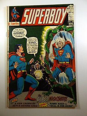 """Superboy #184 """"The Glass Nightmare!"""" Beautiful VG+ Condition!!"""