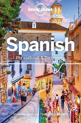 Spanish Lonely Planet Phrase Book & Dictionary 2018
