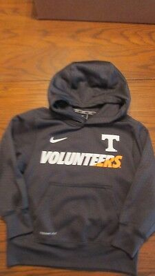 NIKE UNIVERSITY of TENNESSEE YOUTH HOOIDE SWEATSHIRT  EXTRA SMALL  THERMA FIT