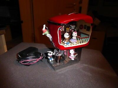 Enesco Coca Cola Multi-Action Musical Rock around the Clock