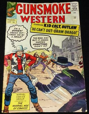 1963 Gunsmoke Western Marvel Comics see both images for condition