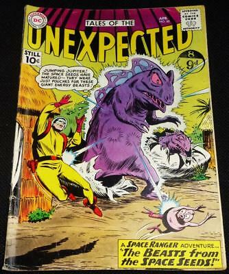 1961 DC comics Tales of the Unexpected see both images for condition