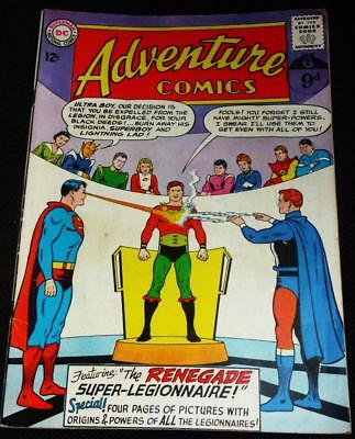 1963 DC comics Adventure (Superman) see both images for condition