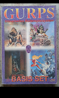 Gurps Universelles Rollenspiel Basis Set * Steve Jackson * Pegasus Press