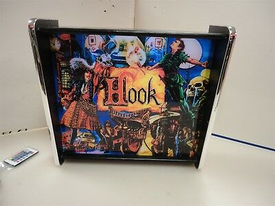 Hook Pinball Head LED Display light box