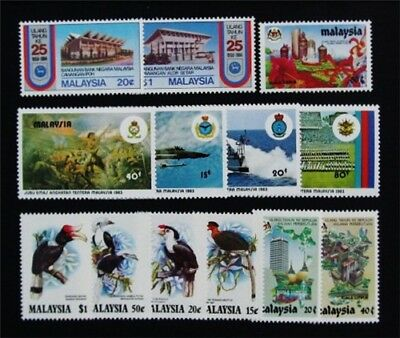 nystamps British Malaysia Stamp # 262 - 274 Mint OG NH $34