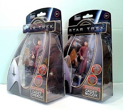 Star Trek Galaxy Collection Figuren Set - Cadet Chekov & McCoy, Playmates OVP!!!