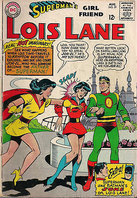 SUPERMAN LOIS LANE #59 (1965) DC Comics BATMAN VG
