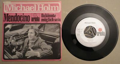 "Single Michael Holm ""Mendocino"", 1960/70er"