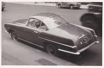 GHIA SPECIAL BODIED COUPE, CAR REG No.TPG 73, PHOTOGRAPH.