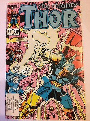 The Mighty Thor #339 - 1st Stormbreaker 3rd Beta Ray Bill 1984