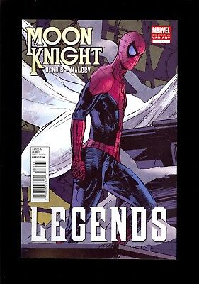 MOON KNIGHT #1  3rd PRINT SPIDER-MAN VARIANT COVER   NM     COMIC KINGS