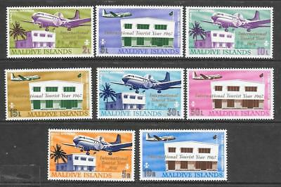 MALDIVE Is - 1967.  Inauguration of Hulule Airport - Set of 8, MH.  Cat £18