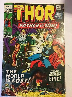 The Mighty Thor #187- Decent Copy