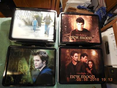 The Twilight Saga Lunch Box & Thermos (4) Of Them Good Price!!! Sale!!look