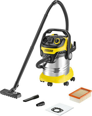 Kärcher Wet/Dry Suction Wet Dry Vacuum Vacuum Cleaners Washing Incl. Nozzles