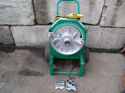 "Greenlee 555 Bender 1/2-2"" Inch  Pipe Electric Bender Nice Unit   #2"