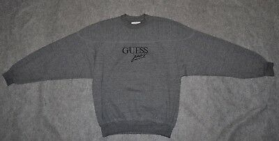 vintage GUESS JEANS 80s SWEATSHIRT Georges Marciano Made USA sz L Sweatshirt