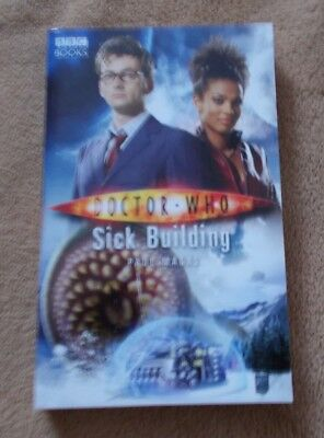 Doctor Who Paperback Book - Sick Building - Paul Magrs - New