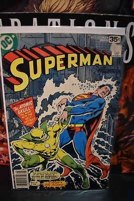 Superman #323 DC Bronze Age Comics 1978 1st Appearance of The Atomic Skull