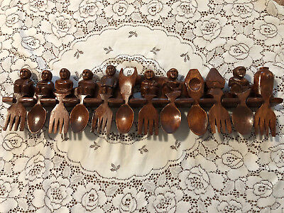 """Clearance! Hurry! Asian/Oriental HAND CARVED WOOD WALL ART 24"""""""