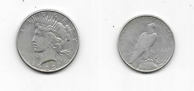 1923 United States Peace Silver Dollar Coin S San Francisco Mint NICE Condition