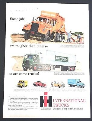 Life Magazine Ad INTERNATIONAL TRUCKS 1959 Ad