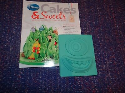 Eaglemoss Disney Cakes & Sweets Magazine #71 With Free Gifts