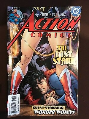 Action Comics,The Last Stand #817,Guest-Starring: Wonder Woman  (DC), 2004