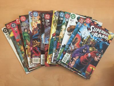 US-DC: Superboy and the Ravers 1, 3-19