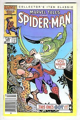 the Amazing Spider-Man #49 reprint in Marvel Tales #189 from July 1986 in VG/F
