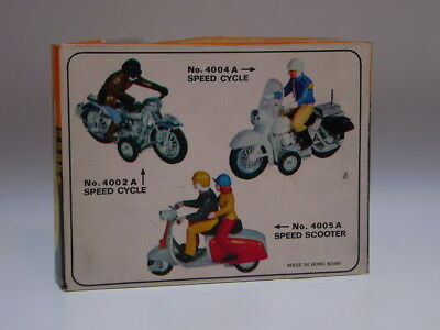 """Gsmoto """"king,s Speed Cycle/scooter"""" Hong Kong, Nur Die Box/only Box !very Good !"""