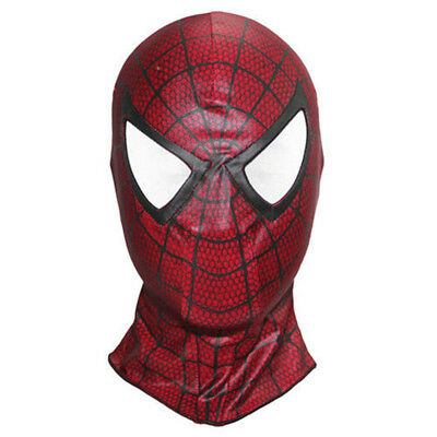 Spiderman Kopfmaske Halloween Masken Karneval Fasching Cosplay Party Maske Rot