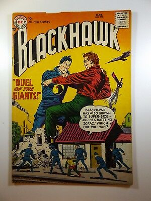"""Blackhawk #110 """"Duel of The Giants!"""" Sharp VG Condition!!"""