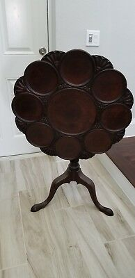 Antique Georgian Mahogany Tilt Top Supper Table (over 200 yrs old) 1790-1810